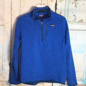Patagonia M's Better Sweater ~ Blue Medium